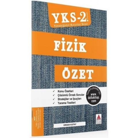 YKS 2. Oturum Fizik Özet Delta Kültür Yayınları