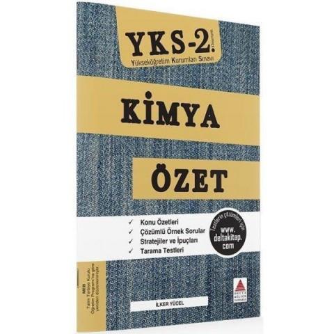 YKS 2.Oturum Kimya Özet Delta Yayınları