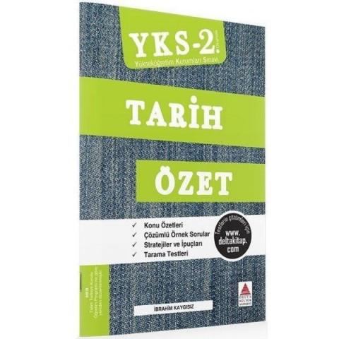 YKS 2.Oturum Tarih Özet Delta Yayınları
