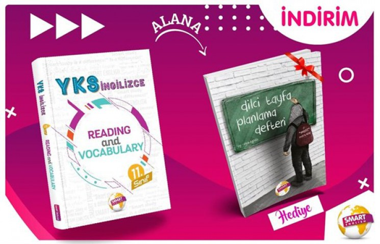 YKS İngilizce - 11. Sınıf Reading and Vocabulary Smart English