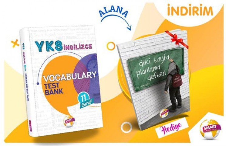 YKS İngilizce 11.Sınıf Vocabulary Test Bank Smart English