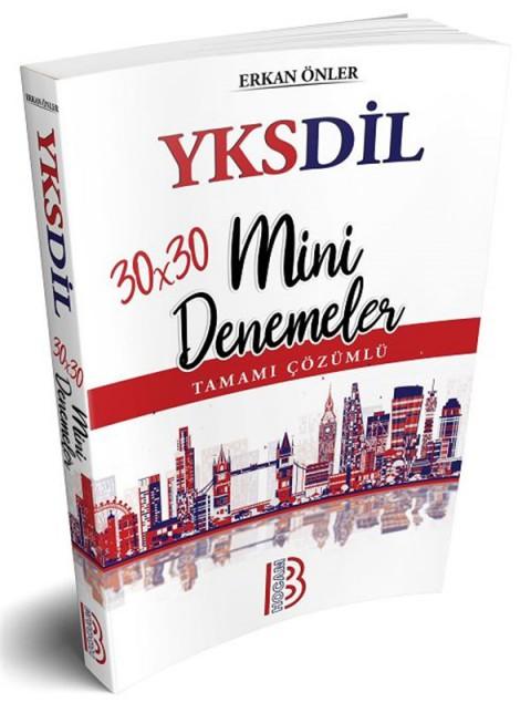 YKSDİL 30x30 Tamamı Çözümlü Mini Denemeler Benim Hocam Yayınları
