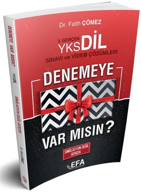 YKSDİL 5 Deneme Sınavı ve Video Çözümleri (EFA SERİSİ) Benim Hocam Yayınları