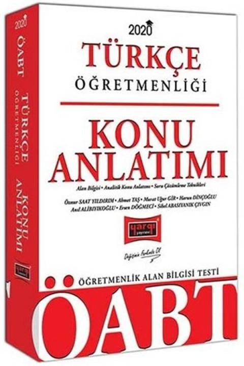 Yargı Yayınları 2020 ÖABT Türkçe Öğretmenliği Konu Anlatımı