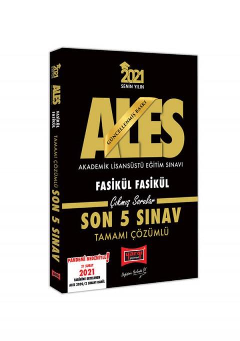 Yargı Yayınları 2021 ALES Faskül Son 5 Sınav Tamamı Çözümlü Çıkmış Sorular