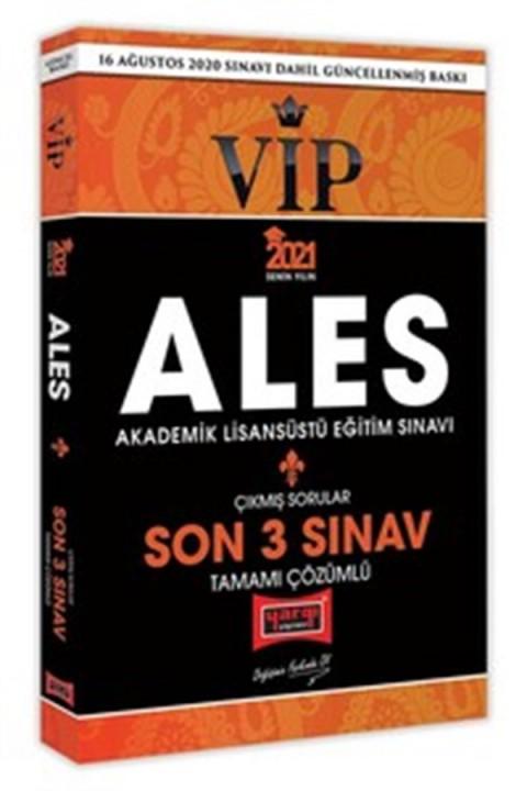 Yargı Yayınları 2021 ALES VIP Son 3 Sınav Tamamı Çözümlü Çıkmış Sorular