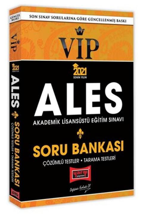 Yargı Yayınları 2021 ALES VIP Tamamı Çözümlü Soru Bankası