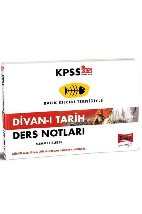 Yargı Yayınları 2021 KPSS Divan-ı Tarih Ders Notları