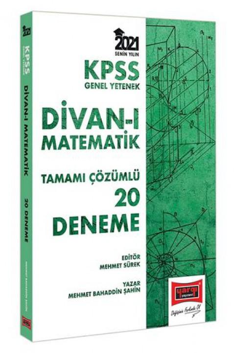 Yargı Yayınları 2021 KPSS GY Divanı Matematik Tamamı Çözümlü 20 Deneme