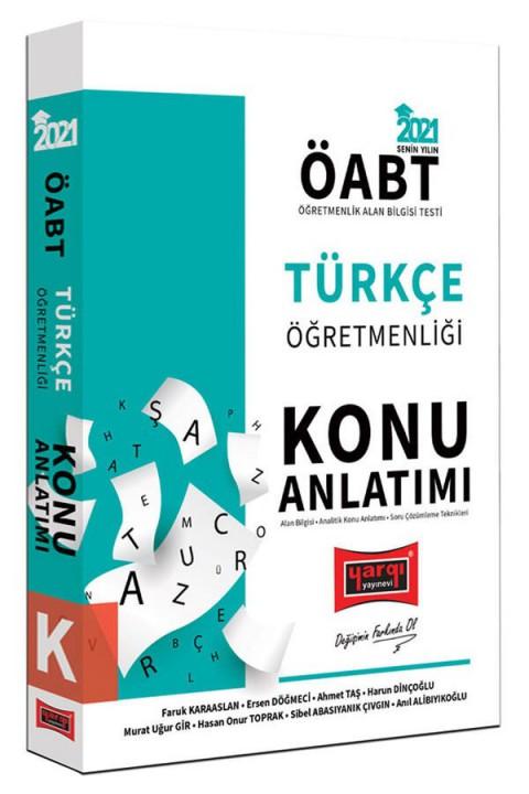 Yargı Yayınları 2021 ÖABT Türkçe Öğretmenliği Konu Anlatımı