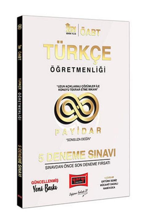 Yargı Yayınları 2021 ÖABT Türkçe Öğretmenliği Payidar 5 Deneme Sınavı