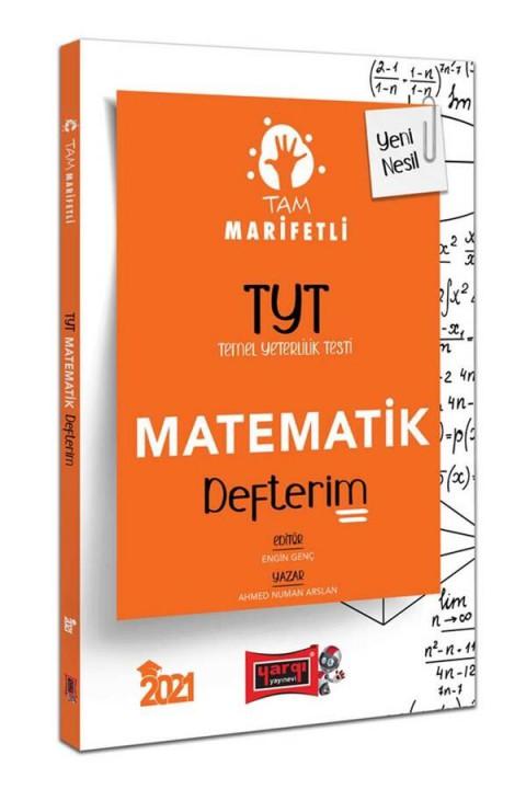 Yargı Yayınları 2021 TYT Tam Marifetli Matematik Defterim