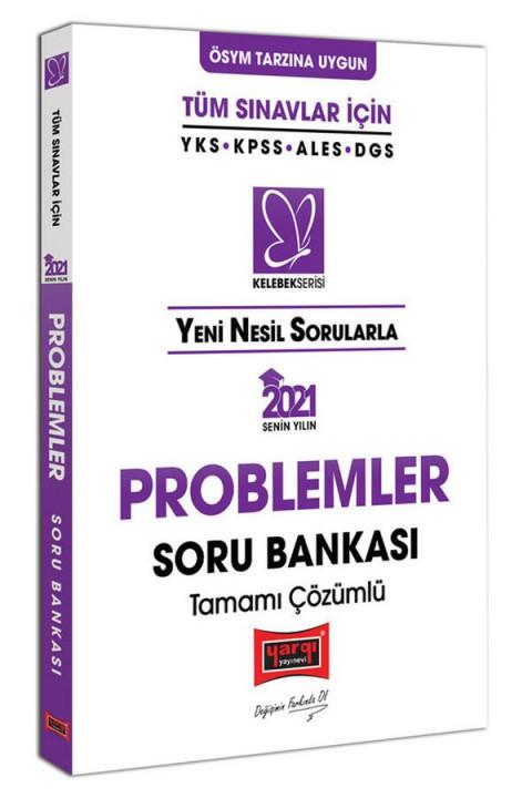 Yargı Yayınları 2021 Tüm Sınavlar İçin Problemler Tamamı Çözümlü Soru Bankası