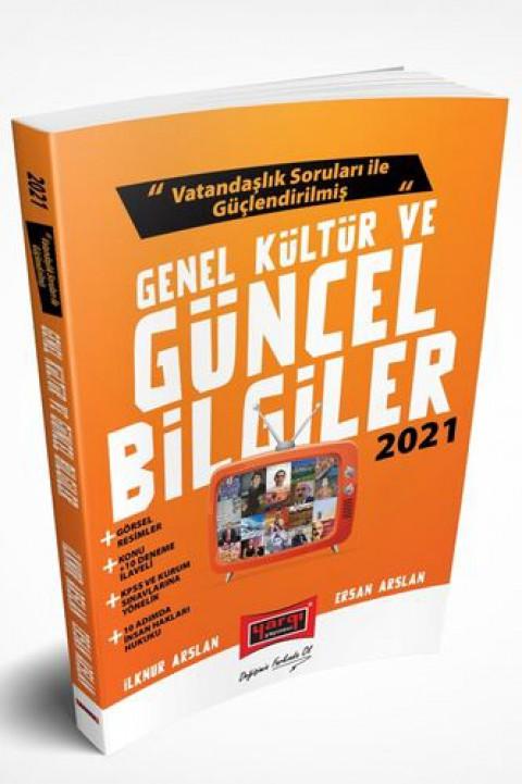 Yargı Yayınları 2021 Vatandaşlık Soruları ile Güçlendirilmiş Genel Kültür ve Güncel Bilgiler