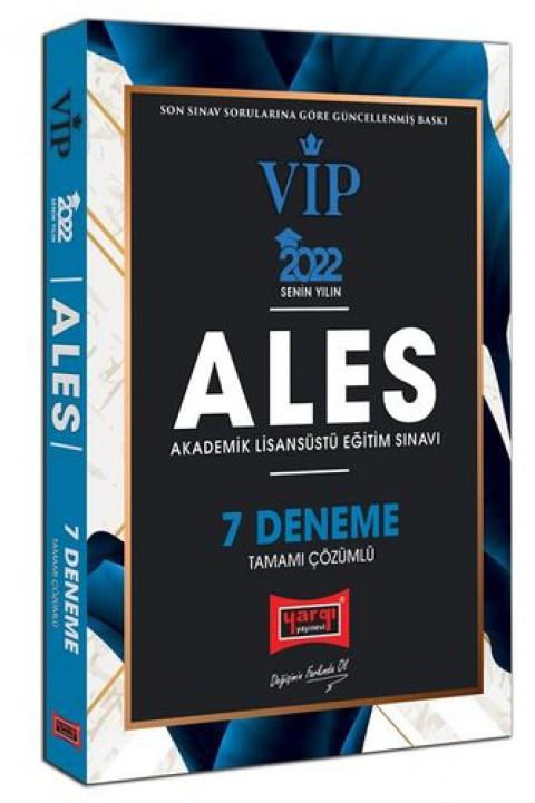 Yargı Yayınları 2022 ALES VIP Tamamı Çözümlü 7 Deneme