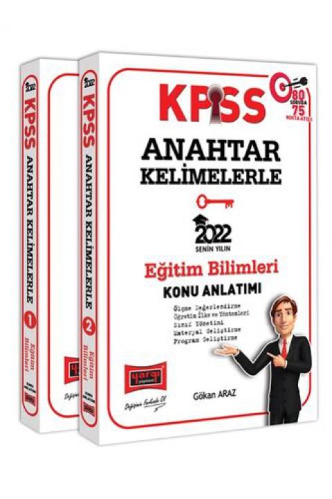 Yargı Yayınları 2022 KPSS Eğitim Bilimleri Anahtar Kelimelerle Konu Anlatımı