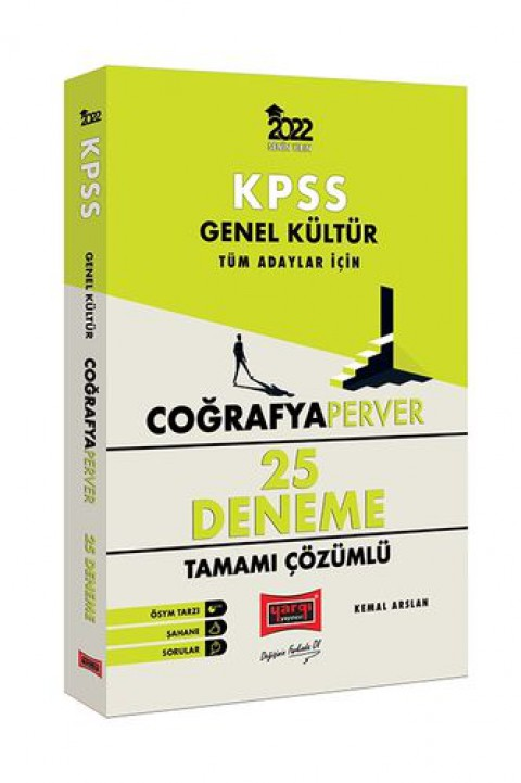 Yargı Yayınları 2022 KPSS Genel Kültür CoğrafyaPerver Tamamı Çözümlü 25 Deneme