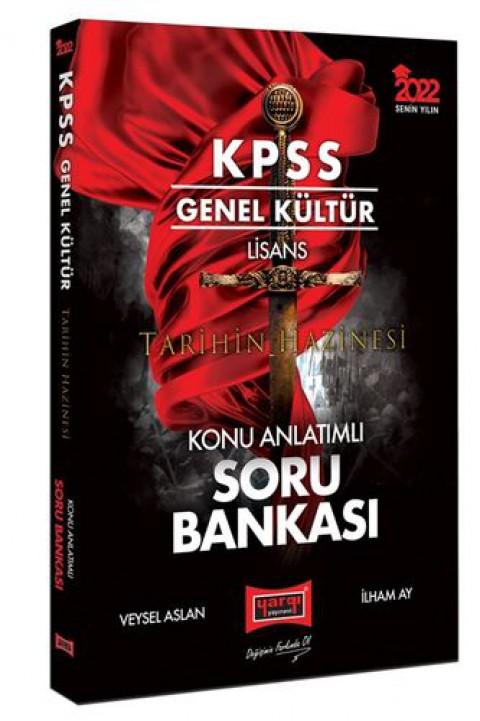 Yargı Yayınları 2022 KPSS Genel Kültür Lisans Tarihin Hazinesi Konu Anlatımlı Soru Bankası