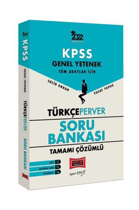Yargı Yayınları 2022 KPSS Genel Yetenek TürkçePerver Tamamı Çözümlü Soru Bankası