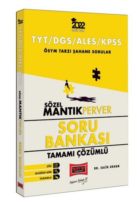 Yargı Yayınları 2022 TYT DGS ALES KPSS Sözel MantıkPerver Tamamı Çözümlü Soru Bankası