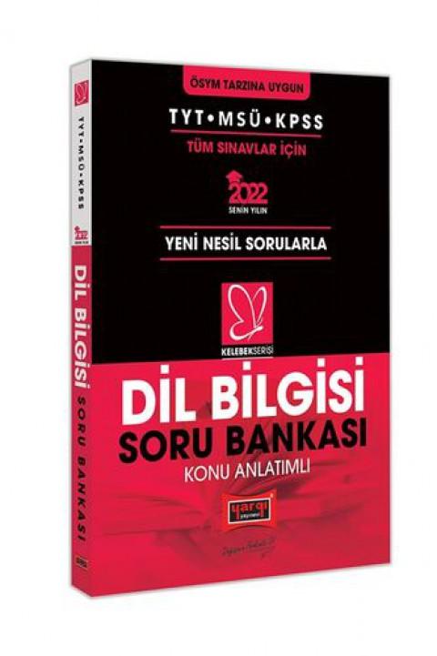 Yargı Yayınevi 2022 TYT MSÜ KPSS Kelebek Serisi Dil Bilgisi Konu Anlatımlı Soru Bankası