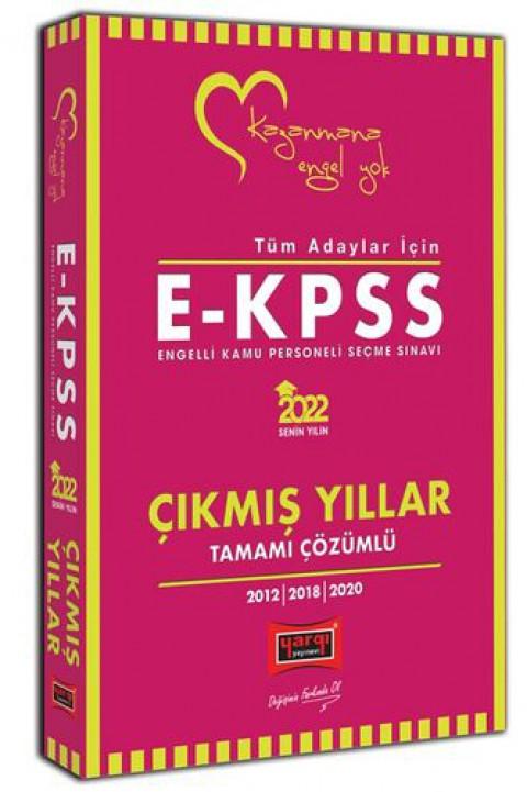 Yargı Yayınları 2022 Tüm Adaylar İçin EKPSS Tamamı Çözümlü Çıkmış Yıllar