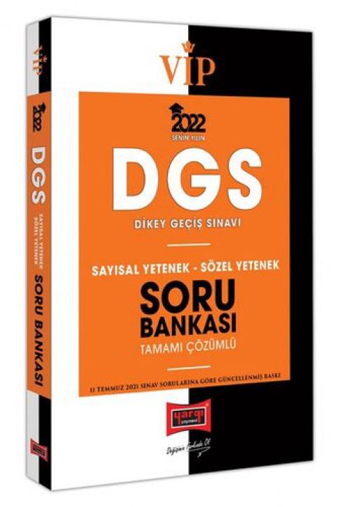 Yargı Yayınları 2022 VİP DGS Sayısal Yetenek Sözel Yetenek Tamamı Çözümlü Soru Bankası