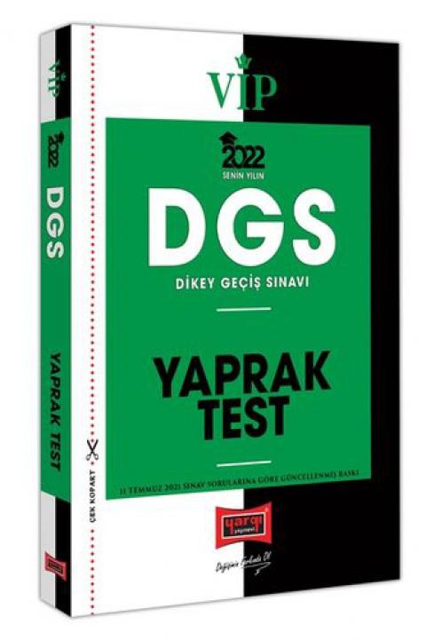 Yargı Yayınları 2022 VİP DGS Yaprak Test