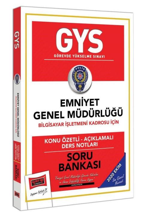 Yargı Yayınları GYS Emniyet Genel Müdürlüğü Bilgisayar İşletmeni Kadrosu İçin Konu Özetli Soru Bankası