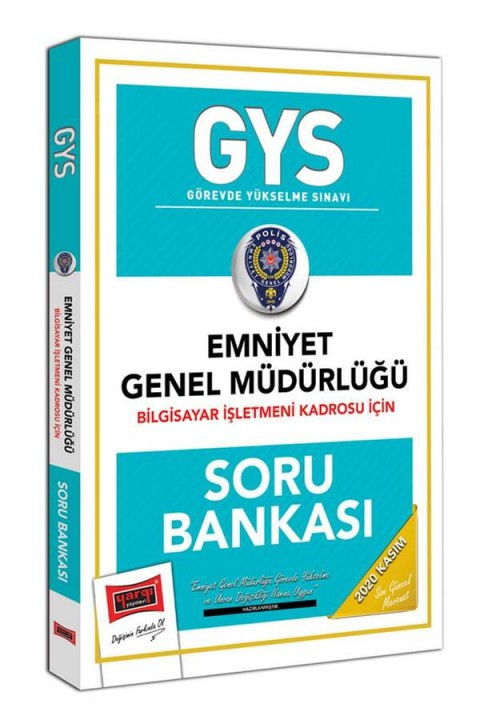 Yargı Yayınları GYS Emniyet Genel Müdürlüğü Bilgisayar İşletmeni Kadrosu İçin Soru Bankası