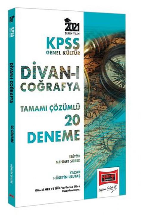 Yargı Yayınları KPSS GK Divanı Coğrafya Tamamı Çözümlü 20 Deneme