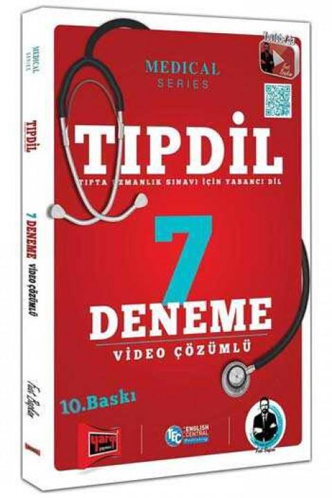 Yargı Yayınları TIPDİL Video Çözümlü 7 Deneme Sınavı 10.Baskı