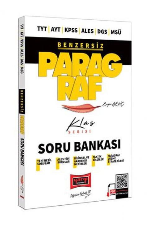 Yargı Yayınları TYT AYT KPSS ALES DGS MSÜ Benzersiz Paragraf Klas Serisi Soru Bankası