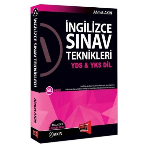 Yargı Yayınları YDS YKSDİL İngilizce Sınav Teknikleri 58. Baskı