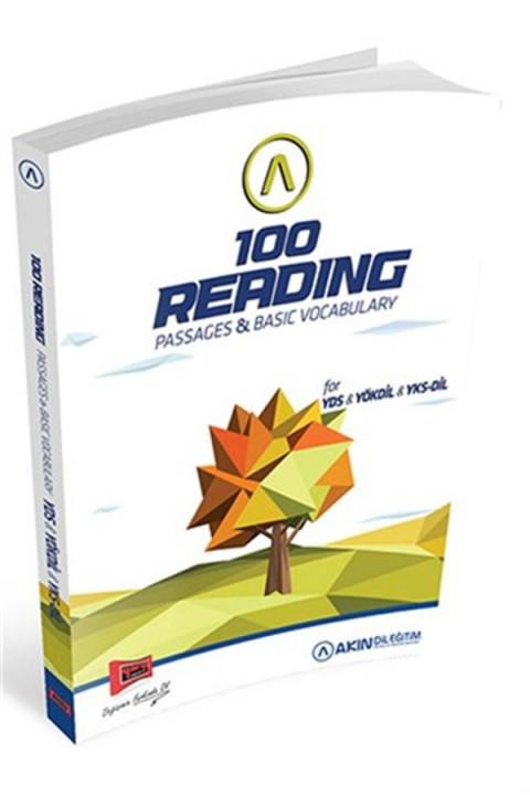 Yargı Yayınları YDS YÖKDİL YKSDİL 100 Reading Passages Basic Vocabulary Akın Dil