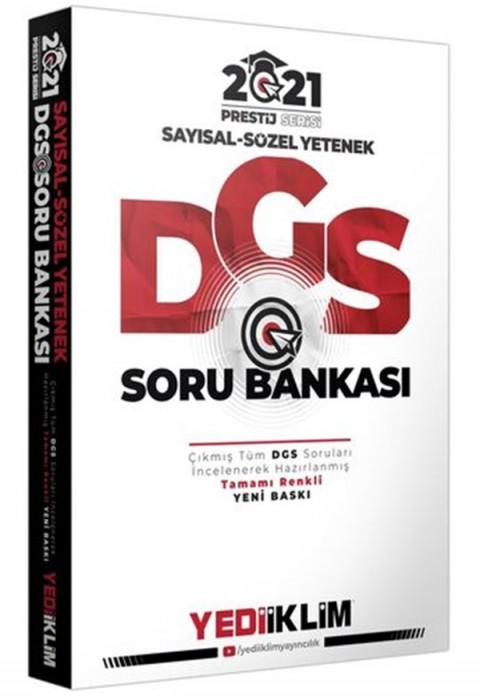 Yediiklim Yayınları 2021 Prestij Serisi DGS Sayısal Sözel Yetenek Soru Bankası(Tamamı Renkli)