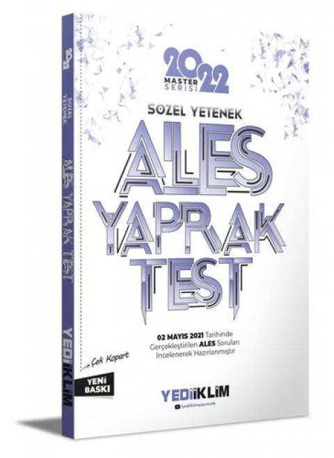 Yediiklim Yayınları 2022 Ales Sözel Yetenek Çek Kopart Yaprak Test