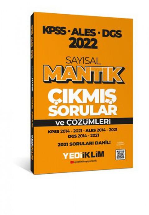 Yediiklim Yayınları 2022 KPSS-ALES-DGS Sayısal Mantık Tamamı Çözümlü Çıkmış Sorular