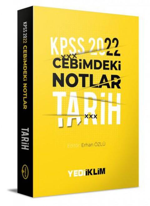 Yediiklim Yayınları 2022 KPSS Cebimdeki Notlar Tarih Kitapçığı