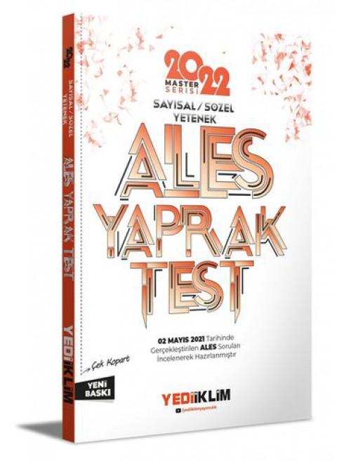 Yediiklim Yayınları 2022 Master Serisi Ales Sayısal-Sözel Yetenek Çek Kopart Yaprak Test