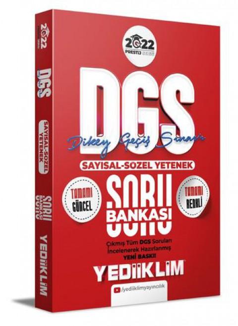 Yediiklim Yayınları 2022 Prestij Serisi Sayısal-Sözel Yetenek Soru Bankası(4 Renk)