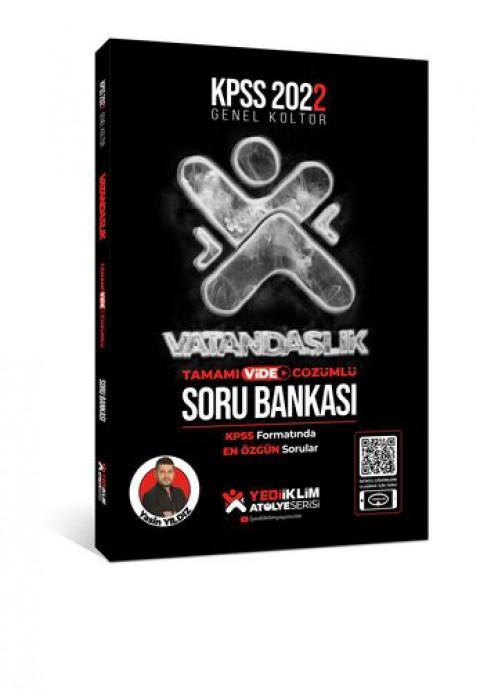 Yediiklim Yayınları Kpss 2022 GK Atölye Serisi Vatandaşlık Tamamı Video Çözümlü Soru Bankası