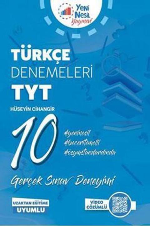 Yeni Nesil Yayınları YKS TYT Türkçe 10 Deneme