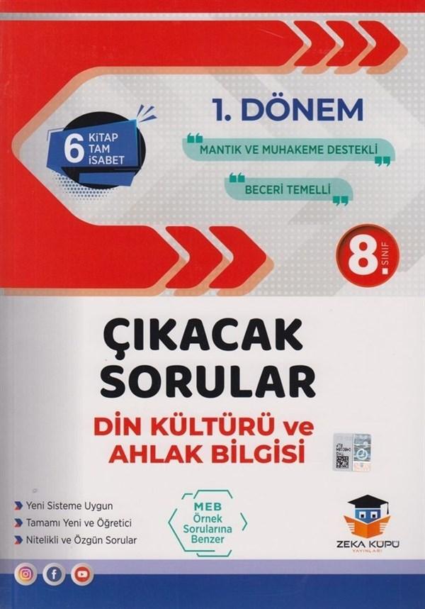 Zeka Küpü Yayınları 8. Sınıf LGS 1. Dönem Din Kültürü ve Ahlak Bilgisi Çıkacak Sorular