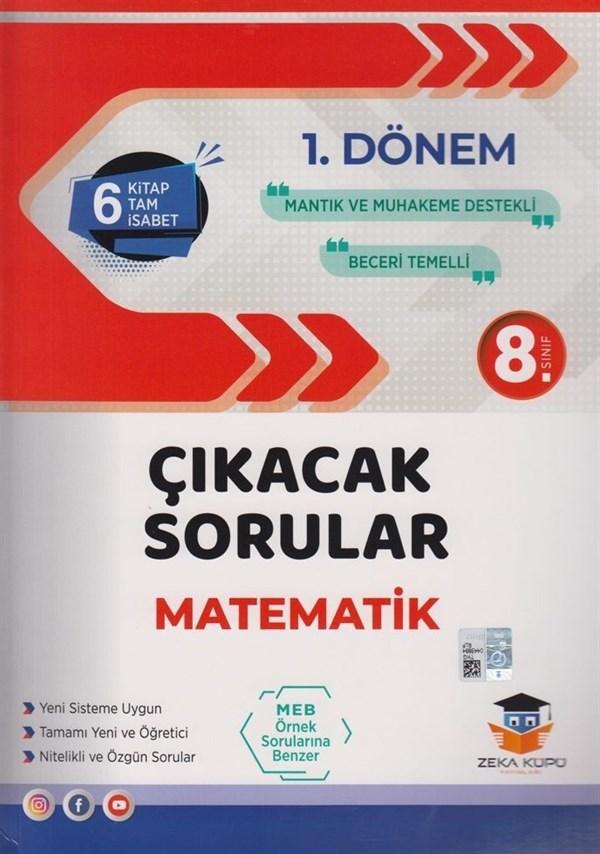 Zeka Küpü Yayınları 8. Sınıf LGS 1. Dönem Matematik Çıkacak Sorular