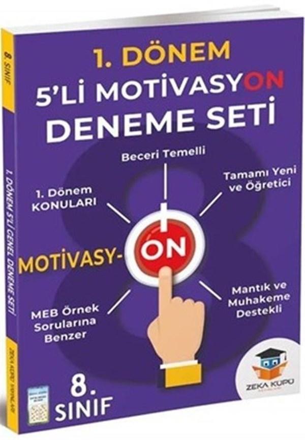 Zeka Küpü Yayınları 8. Sınıf LGS 1. Dönem Motivasyon Deneme Seti